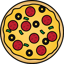 whole pizza clipart. Beautiful Clipart Whole Pizza Clip Art Image  Whole Pizza With Pepperoni Pepper And Olive To Clipart MyCuteGraphics
