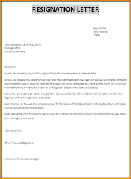 Free Resignation Letter Templates Template Word Printable Format In ...