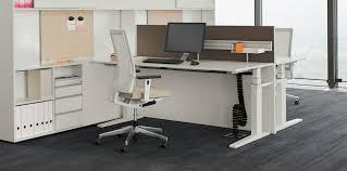 office desking. T-Lift Desk \u0026 CUBE_S Spine Office Desking