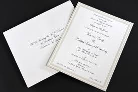 Black And White Invitation Paper Pearlised Border Card