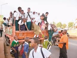 Image result for usafiri wa shida kwa wanafunzi dar es salaam