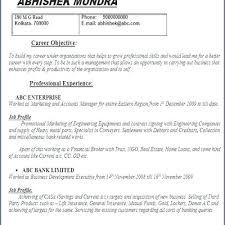 Insurance Resume Objective Finance Executive Resume Objective