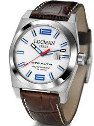 locman mens watches uk watches store locman men s stealth automatic watch 020500whfbl0pst