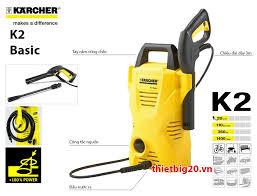 Đại lý phân phối máy rửa xe gia đình Karcher Đức chính hãng tại Hà Nội