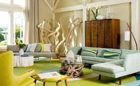 mid century modern inspired furniture. Mid Century Modern Designer Chairs View In Gallery How To Achieve A Style Living Room Colorful Inspired Furniture