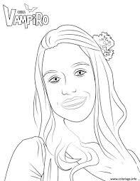 Coloriage Marylin Chica Vampiro Dessin