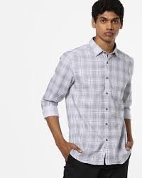 Indigo Nation Size Chart Checked Shirt With Patch Pocket