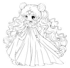 Chibi Anime Coloring Pages Coloring Page Anime Coloring Pages