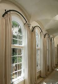 Gorgeous Ideas For Hanging Curtain Rod Design Ideas About Arched Window  Curtains On Pinterest Arch