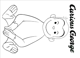 Curious George Coloring Book Page And Activity Therisingsuninfo