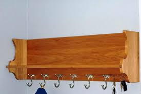 wooden wall coat rack image of wooden wall mounted coat rack with hooks wood wall clothes hanger