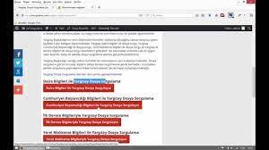 Yargıtay Dosya Sorgulama - YouTube