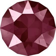 <b>1088 SS39 Стразы Сваровски Crystal</b> AB 8 16 мм, т красный лак ...