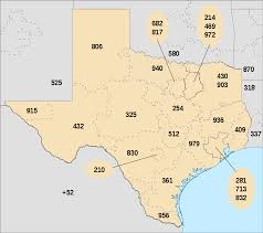 List of Texas area codes - Wikipedia