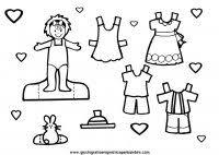 Giochi Con La Carta Ritaglia E Costruisci Pupazzi Veicoli E Bambole
