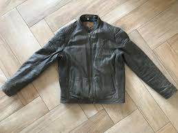 goosecraft leather jacket biker 915