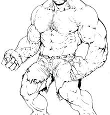 Hulk Coloring Pages To Print Free Hulk Coloring Picture The Pages