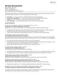 Sample Manual Testing Resumes Amazing Qa Testing Sample Resume Sarahepps