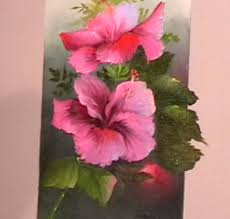 the beauty of oil painting behind the scenes episode 2 hibiscus