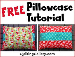 Sew-a-Thon: One Million Pillow Case Challenge - Quilting Gallery ... & free-pillowcase-tutorial Adamdwight.com