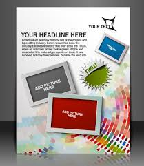 flyer design free vector stylish brochure flyer design vector graphic 10 free download