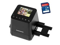 magnasonic all in one slide scanner high resolution 23mp converts