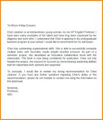 High School Recommendation Letter High School Senior Recommendation ...