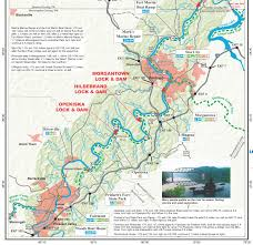 Monongahela River Depth Chart Pennsylvania Water Trail Guides And Maps