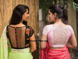 Blouse Design For Youngsters Latest Blouse Designs 2019 For Girls Blouse Designs Choli