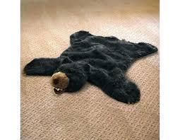 faux animal rug faux animal rug black bear plush faux animal skin rug faux animal faux animal rug