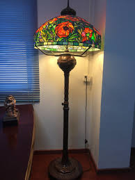 Hot Item Tiffany Style Stained Glass Floor Lamp With Handmade Stained Glass