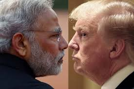 Image result for pics of modi and trump