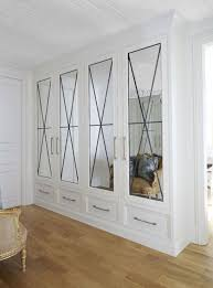 mirrored closet doors. Doors, Marvellous Mirrored French Closet Doors Bifold White Door Wall Wooden