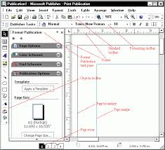 Microsoft Publisher Format Parts Of Microsoft Excel Parts Of Microsoft Publisher