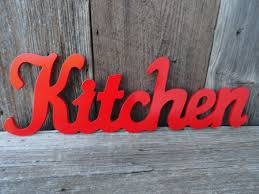 Word Signs Wall Decor kitchen wall decor apple red kitchen wooden wall red colored 26