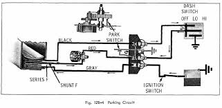 automotive diagrams archives page 80 of 301 automotive wiring parking circuit diagram of 1966 oldsmobile 33 through 86 series