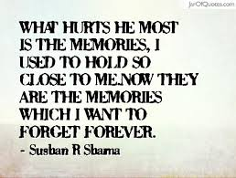 Memory Quotes Interesting Quotes About Memory And Forgetting 48 Quotes