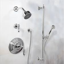 oil rubbed bronze chrome finish shower system