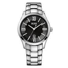 hugo boss watches boss watches uk ernest jones hugo boss men s stainless steel bracelet watch product number 4492404