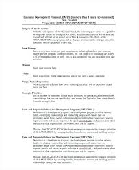 Business Development Proposal Template Action Plan Templates For ...