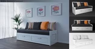 ikea brimnes bed. Ikea Brimnes Sofa Bed