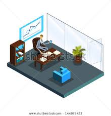 isometric office furniture vector collection. Isometric Office Furniture Vector Collection. Of Top Manager; Business Call; Interior Collection S