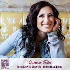 summer felix on opening the conversation about addiction