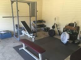 Where should I locate a home gym?