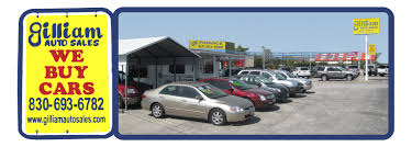 Auto For Sell Gilliam Auto Sales Cars For Sale In Marble Falls Tx