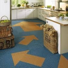 Square Vision Arrows Design Kitchen Carpet Tiles