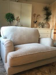 dunelm walton snuggle chair in colton fabric un wooburn