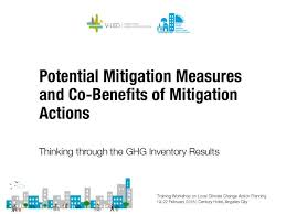 Potential Mitigation Measures And Co Benefits Of Mitigation