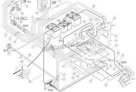 club car precedent battery wiring diagram wiring diagram Club Car Golf Cart Battery Diagram club car battery wiring diagram 4 for gas club car golf cart battery wiring diagram