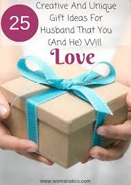birthday present ideas for husband 25 creative and unique gift ideas for husbands birthday that you